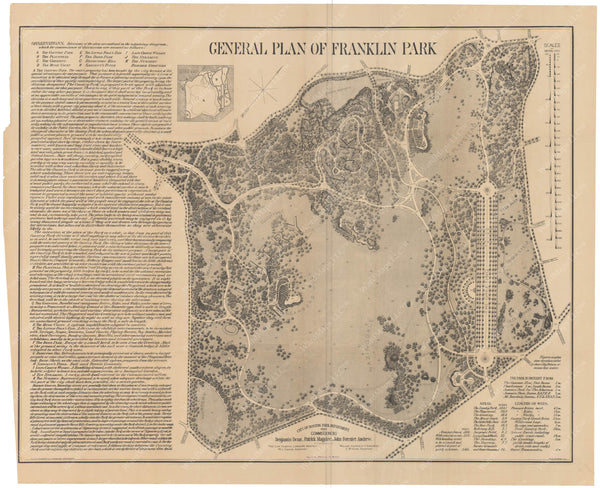 Franklin Park, Boston, Massachusetts 1885