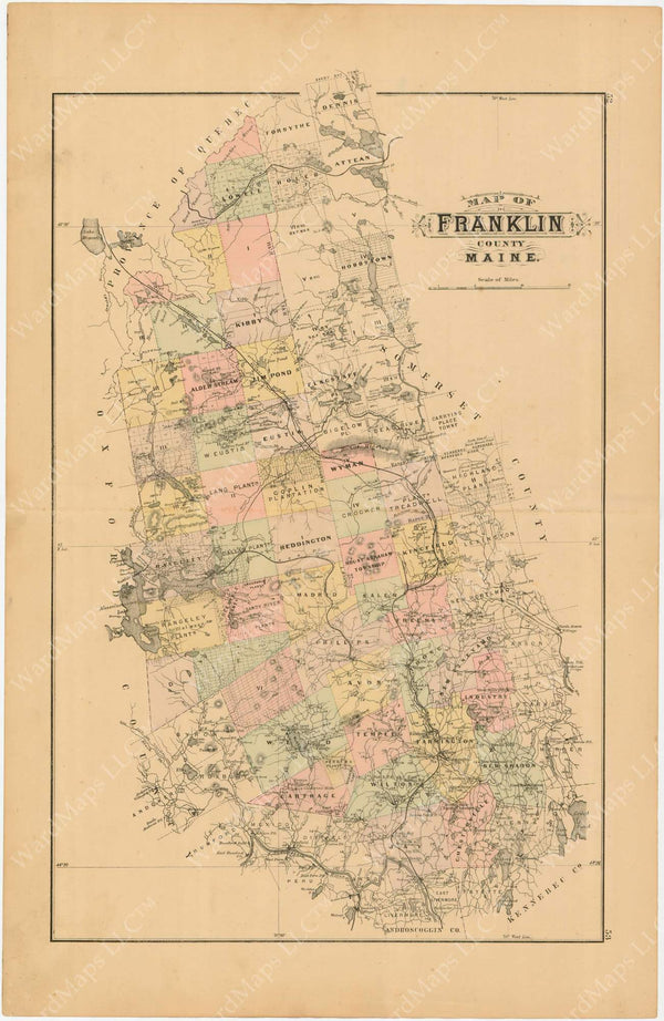 Franklin County, Maine 1894-95