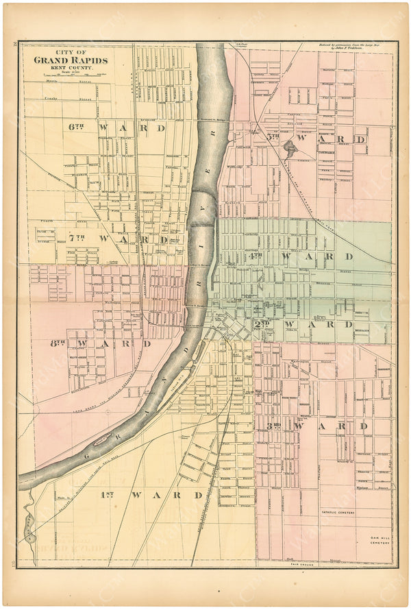 Grand Rapids, Michigan 1873