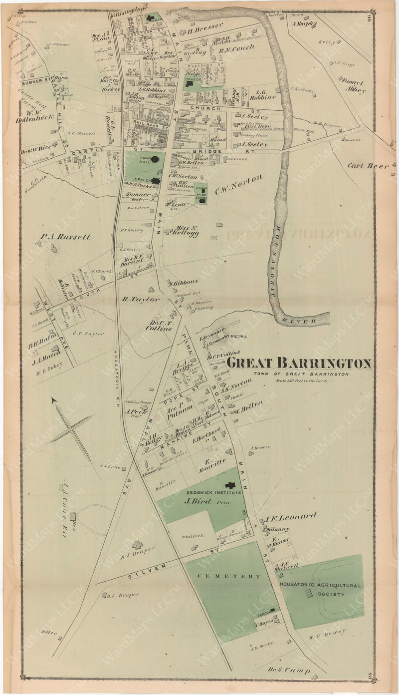 Great Barrington, Massachusetts 1876