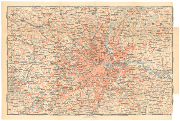 London, England 1930: Greater London