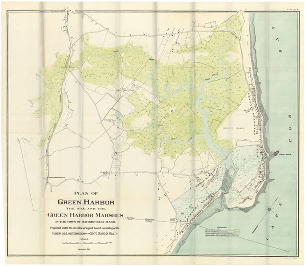 Marshfield, Massachusetts: Green Harbor Marshes 1897