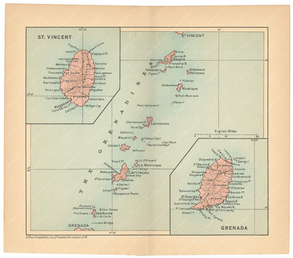 Grenada and Saint Vincent 1927