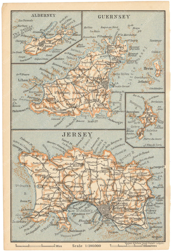 Channel Islands 1910