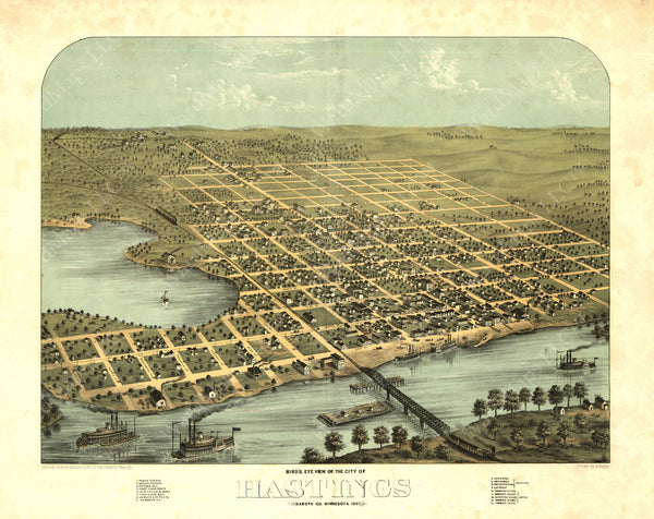 Hastings, Minnesota 1867