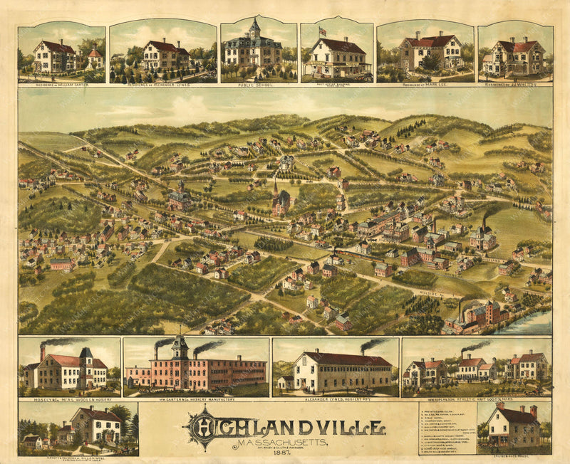 Haverhill: Highlandville, Massachusetts 1882