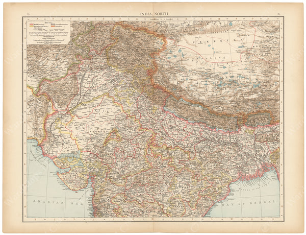 India 1895: Northern Part