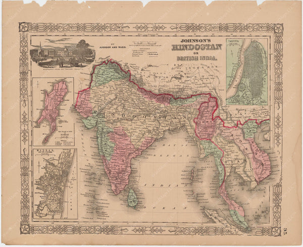 India and Southeast Asia 1865