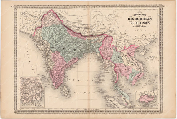 Hindostan and India 1873