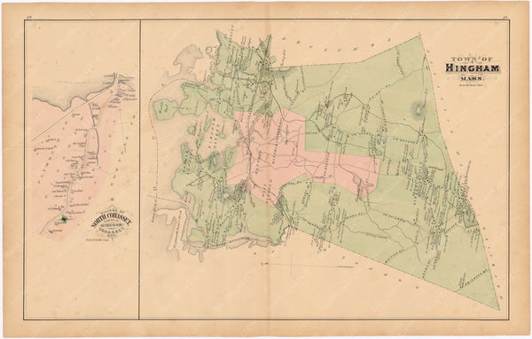 Cohasset and Hingham, Massachusetts 1879
