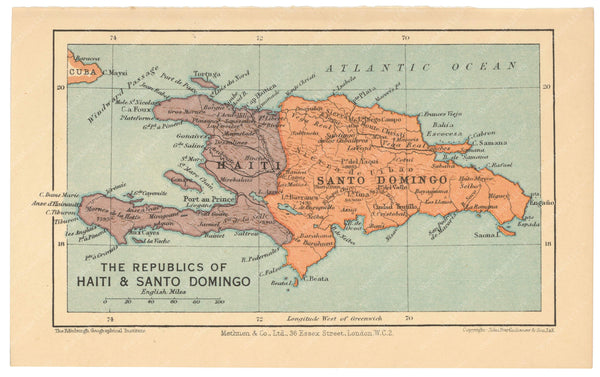 Haiti and Dominican Republic 1939