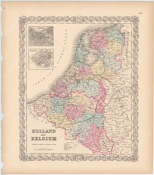 Belgium and Netherlands 1856