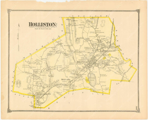 Holliston, Massachusetts 1875