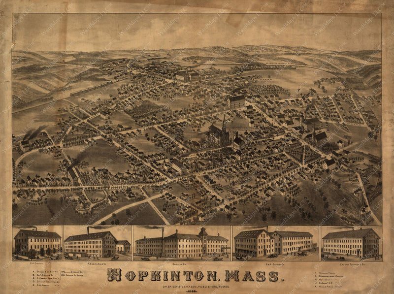 Hopkinton, Massachusetts 1880