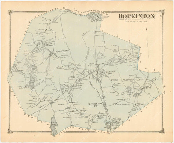 Hopkinton, Massachusetts 1875