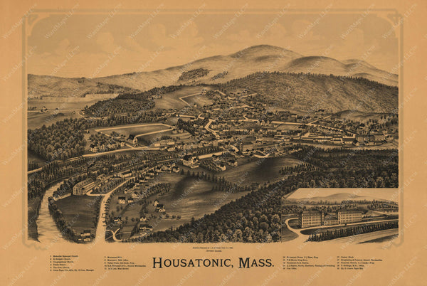 Great Barrington: Housatonic, Massachusetts 1890