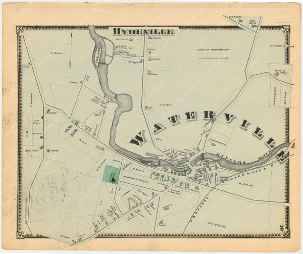 Winchendon, Massachusetts 1870: Waterville