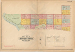 Philadelphia, Pennsylvania 1908, 5th, 7th, and 8th Wards: Index Map