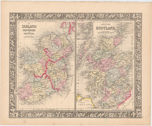 Ireland and Scotland 1864