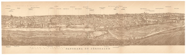Jerusalem Panoramic 1912