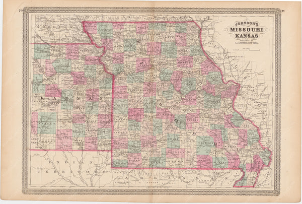 Kansas and Missouri 1873