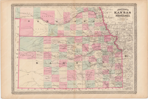 Kansas and Nebraska 1873