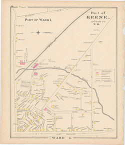 Keene, New Hampshire 1892