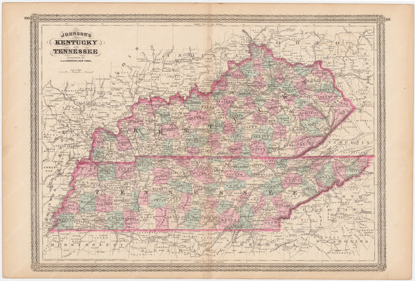 Kentucky and Tennessee 1873