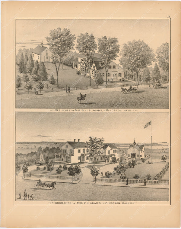 Kingston, Massachusetts 1879