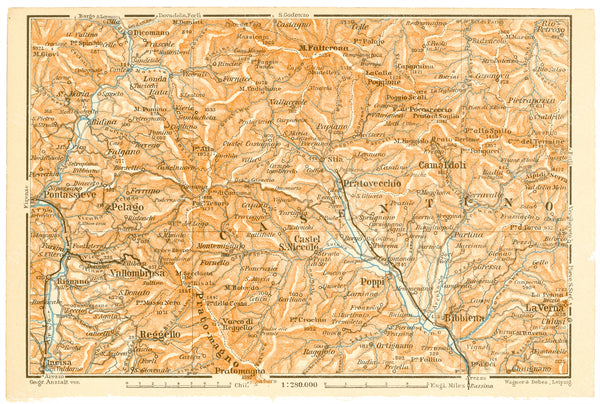 Casentino Valley Region, Italy 1913