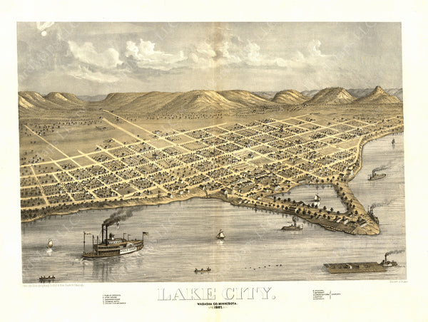 Lake City, Minnesota 1867