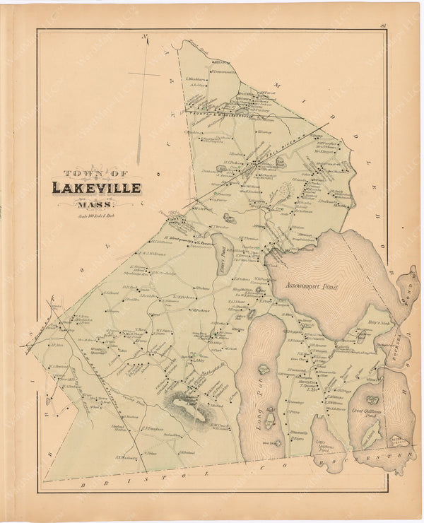 Lakeville, Massachusetts 1879