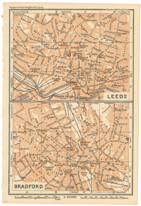 Bradford and Leeds, England 1910