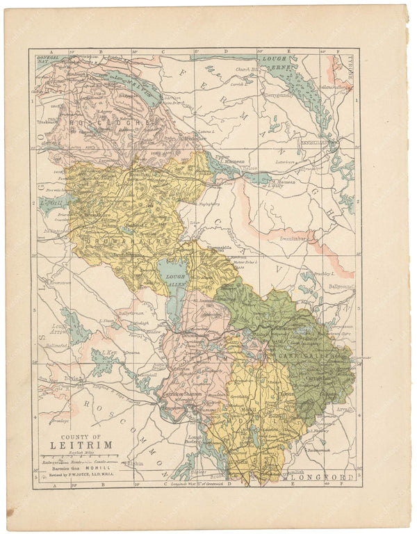 County Leitrim, Ireland 1900