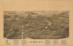 Le Roy, New York 1892