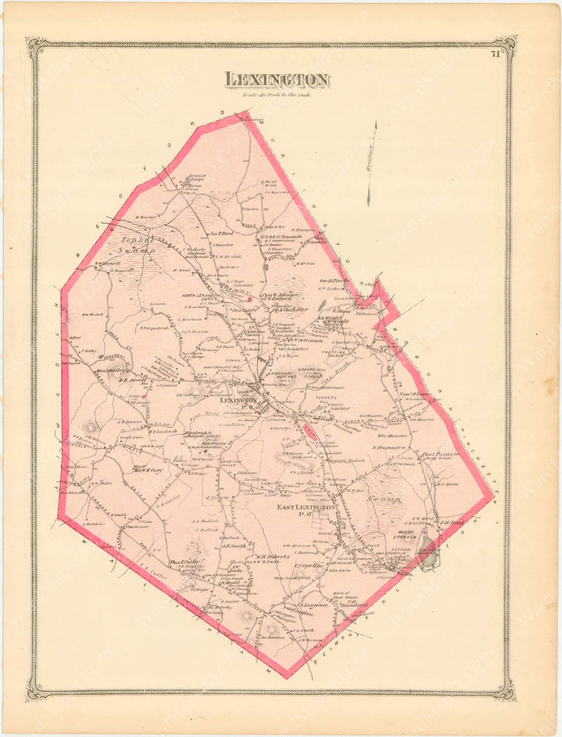 Lexington, Massachusetts 1875
