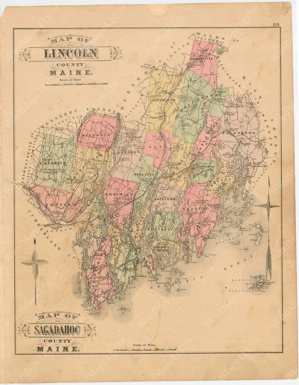 Lincoln County, Maine 1894-95