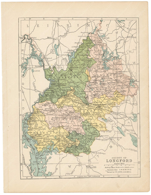 County Longford, Ireland 1900