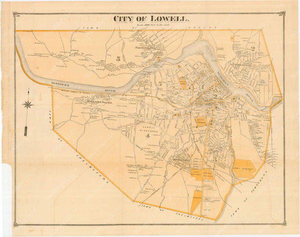 Lowell, Massachusetts 1875