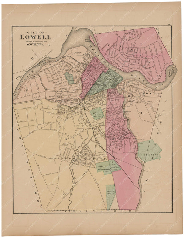 Lowell, Massachusetts 1871