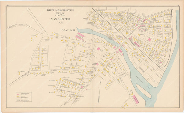 Manchester, New Hampshire 1892