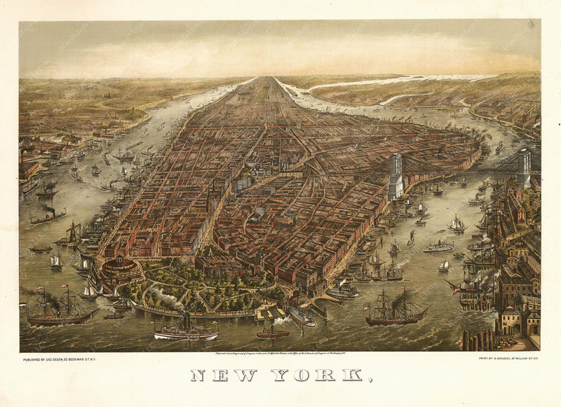 New York City, New York 1873