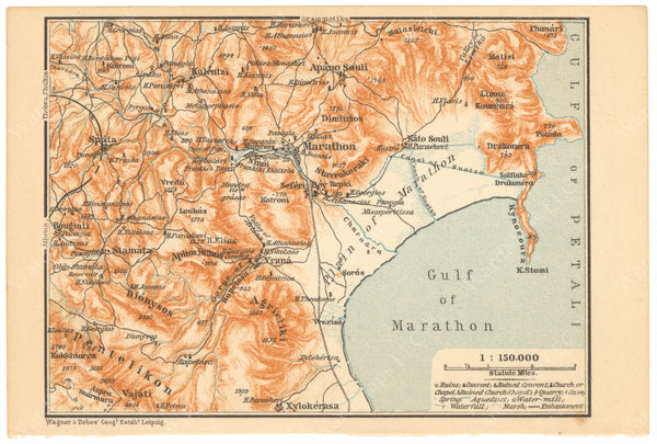 Marathon Region, Greece 1909