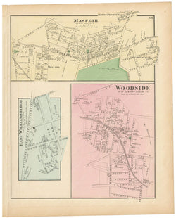 Newtown: East Williamsburgh, Maspeth, and Woodside, New York 1873