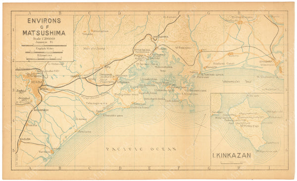 Matsushima and Sendai Region, Japan 1933