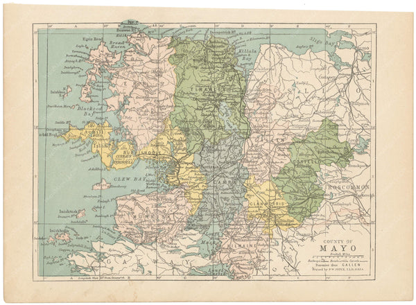 County Mayo, Ireland 1900