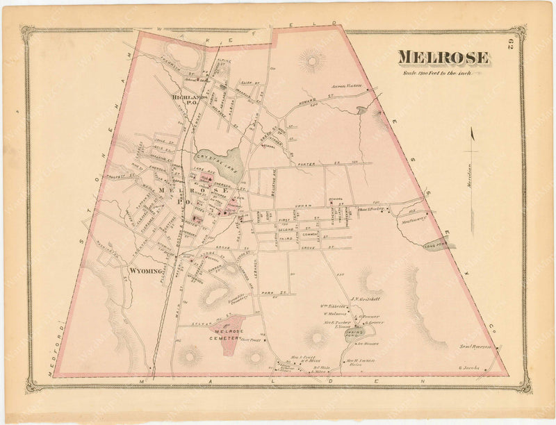 Melrose, Massachusetts 1875