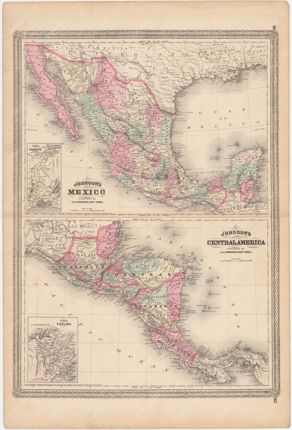 Mexico and Central America 1873