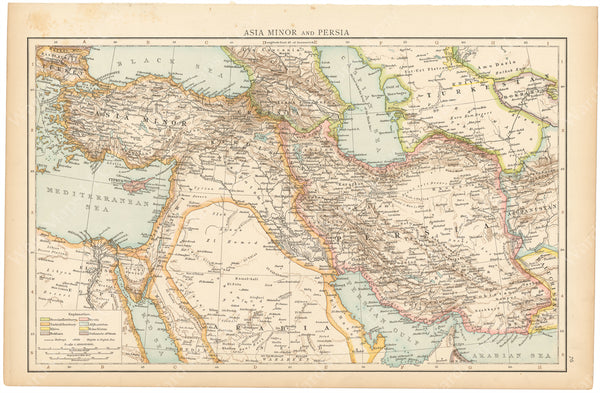 Middle East 1895