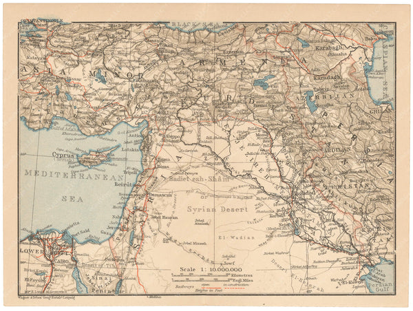 The Middle East 1912